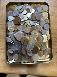Ausländische Münzen Buntmetallschrott 1,5kg