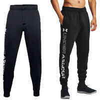 Under Armour Mens Tracksuits Bottom Rival Trouser Track Running Pant Fleece