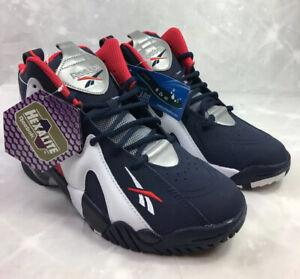 Reebok Kamikaze II USA Basketball Shoes Red/White/Blue FY0682 Big Kids Sz Y5 NEW