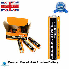 100 Duracell Procell AAA 1.5V Alkaline Professional High Performance Batteries