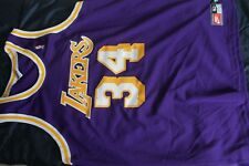 Shaquille (Shaq) O'Neal Nike Los Angeles Lakers NBA road jersey