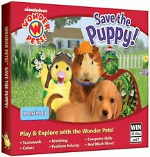 NEW Wonder Pets! Save the Puppy! PC Computer Game dog backyard family friendly