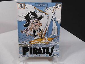 1960 Pittsburgh Pirates Yearbook Program - Revised