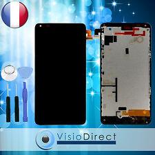 Ecran complet pour Nokia Lumia 640 noir vitre tactile + ecran LCD sur châssis