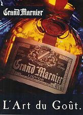 PUBLICITE ADVERTISING   1993    GRAND MARNIER   liqueur triple orange