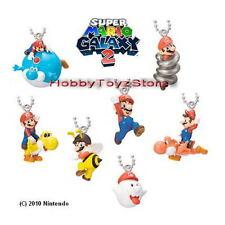 Nintendo Super Mario Galaxy 2 Characters Mascot Keychain Figure Full Set of 7pcs