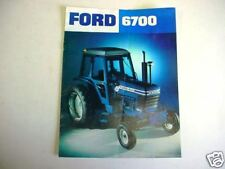 Ford 6700 Tractor Brochure