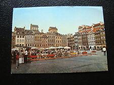 POLOGNE - carte postale - warszawa (rynek starego miasta) (cy25) poland