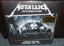 Metallica Live At House Of Vans 3-LP Vinyl Limited Edition New Sealed London UK