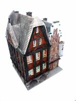 Haus Kammerzell sehr schön gealtert Doppelhaus BELEUCHTET Spur N C830