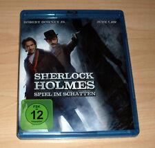 Blu Ray Film - Sherlock Holmes - Spiel im Schatten - Robert Downey Jr. -Jude Law