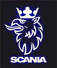 SC-3 Scania Truck Logo V8 Griffin Engine A5 A4 Size Airbrush Stencils Car Motor
