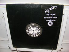 "Roz White 12"" Bad For Me on Bullet Records 1996 House"