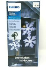 NEW Philips Snowflakes in Motion Projector Indoor Outdoor Winter Christmas Light