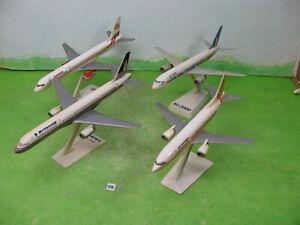 model aeroplanes Brittania boeing 747 1/200 & 3 other air europa etc n09