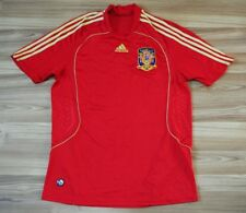 SPAIN NATIONAL TEAM 2008/2009 HOME FOOTBALL SHIRT JERSEY CAMISETA SIZE LARGE MEN