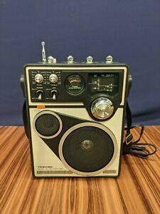 Toshiba RP-1660MC FM AM PSB CB Weather 4 Band Radio Portable Working Vintage