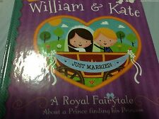 NEW WILLIAM & KATE Royal Child Book Kids Doll Wedding Prince Princess