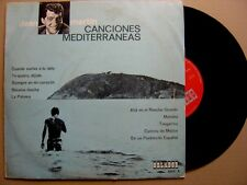 "DEAN MARTIN chansons méditerranée RARE ESPAGNOL LP 10"" ORLADOR 1964"