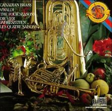 Audio CD: Vivaldi: The Four Seasons, Op. 8 (Transcribed for Brass Quintet by Art