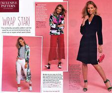 Versatile WRAPOVER DRESS COAT JACKET GOWN Prima Sewing Pattern 10 12 14 16 18 20