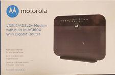 Motorola Model MD1600 VDSL2/ADSL2+ Modem w/ AC1600 WiFi Gigabit Router