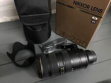 Nikon Nikkor 70-200 mm f/2.8 F2.8 G VR IS AF-S IF SIC lente ED