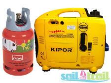 Kipor IG 1000 LPG Suitcase Inverter Generator - On Generator Kit
