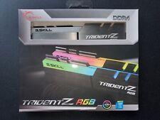 ✔✔ G.SKILL TridentZ RGB 16GB (2x8GB) 4266MHz PC4-34100 DDR4 **B-DIE** GSKILL