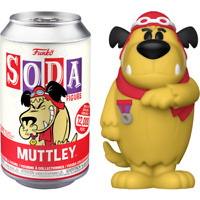 FUNKO POP! - NOW AVAILABLE - SODA COLLECTOR CAN - WACKY RACES - MUTTLEY