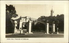 Berkeley CA University Suther Gate Real Photo Postcard