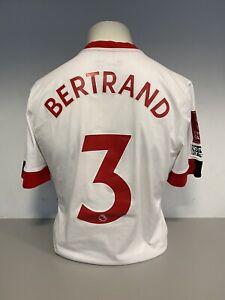 RYAN BERTRAND MATCH ISSUED SOUTHAMPTON FC FA CUP SHIRT 20/21 SEASON