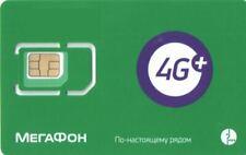 Russische SIM Karte von MegaFon mit weltweites Roaming worldwide
