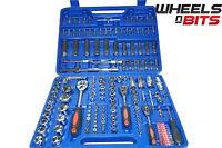 "Socket Wrench Set Ratchet Bit Torx 172Pc 1/2"" 1/4"" 3/8"" Tool Kit Mechanics 171"