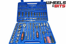 "Wheels N Bits 172pc Socket and Bit Set Case Ratchet Hex Torx. 1/2"" 3/8"" 1/4"" 171"