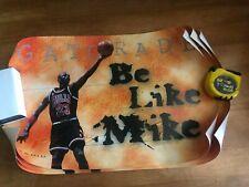 LOT OF 9 POSTERS Michael Jordan 98 Be Like Mike Chicago Bulls Gatorade Original