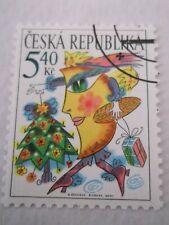 2001 Czech Republic Christmas used Mi.311. C16