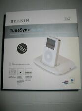 Belkin Tune Sync for iPod 5G and nano compatible.Charge Sync and Listen .