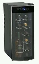 Wine Bottle Bar Tool Beverage Curved Door Style Electric Storage Cooling System