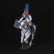 Tin soldier, Trumpeter guard dragoons, in full uniform, Napoleonic 54 mm