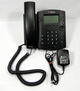 Polycom VVX 300 LCD Business Phone 6 Line VOIP Speakerphone