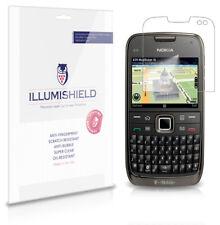 iLLumiShield Phone Screen Protector w Anti-Bubble/Print 3x for Nokia E73