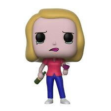 Funko Rick And Morty POP Beth With Wine Vinyl Figure NEW Toys IN STOCK