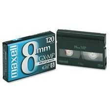 Maxell 8 P6-120 GX GX MP 120 Brand New 8mm Camcorder Videotape Metal Particle