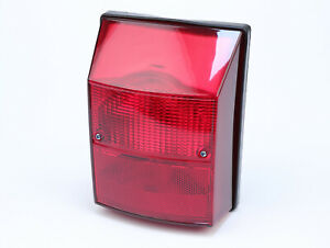 Tail Light, Rear Light, Rear Lamp Assembly -SIEM- Vespa PK S - Red