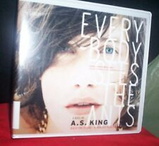 Everybody Sees The Ants 2012  A. S. King Unabr CDs  Rby K. Heyborne  x-Library