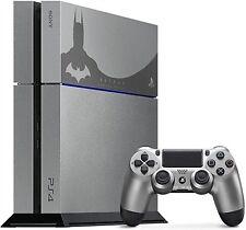 PS4 CONSOLE 500 GB GREY BATMAN LIMITED EDITION VERSION