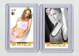 Jennie Garth rare MH Rustica #'d 1/3 Tobacco card no. 392