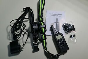 No Shock Dog Training Collar with Remote 2600Ft Range Rechargeable
