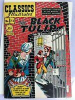 Classics Illustrated Comics #73 The Black Tulip by Dumas HRN 75 VG July 1950